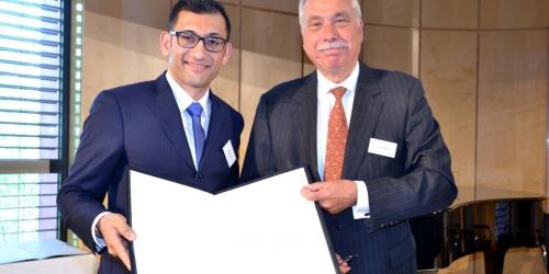 Jung-Stiftung Preisverleihung 2015 Ernst Jung-Karriere-Foerderpreis
