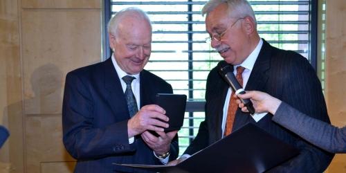 Jung-Stiftung Preisverleihung 2015 Ernst Jung-Medaille