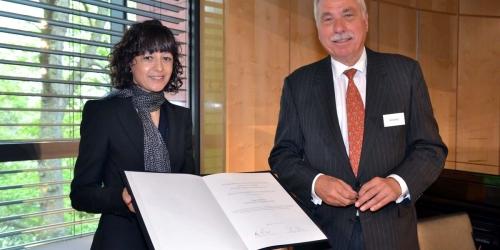 Jung-Stiftung Preisverleihung 2015 Ernst Jung-Preis