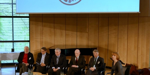 Jung-Stiftung Preisverleihung 2015 Talkrunde