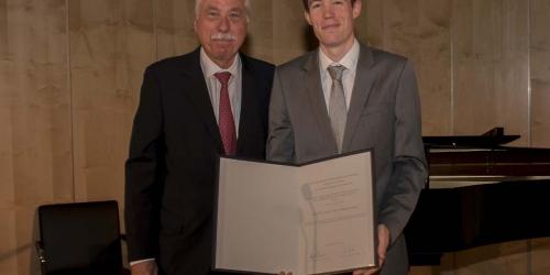 Jung-Stiftung Preisverleihung 2016 Ernst Jung-Karriere-Förderpreis