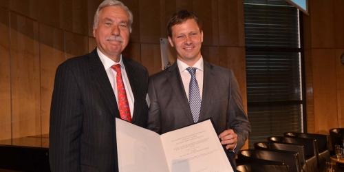 Jung-Stiftung Preisverleihung 2014 Ernst Jung-Karriere-Foerderpreis