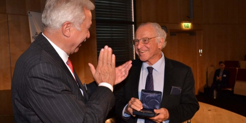 Jung-Stiftung Preisverleihung 2014 Ernst Jung-Medaille