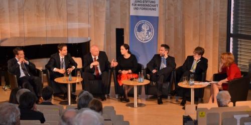 Jung-Stiftung Preisverleihung 2014 Talkrunde